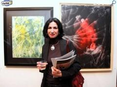photo de Béatrice Burel expose à la galerie d'art contemporain Styl'art cadre à Gaillon