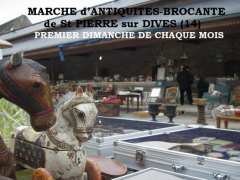 photo de 2 JANVIER - St PIERRE sur DIVES (14)- BROCANTE