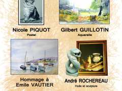 photo de Exposition peintures et sculptures