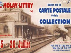 photo de 25 & 26 juillet -LE MOLAY LITTRY - 29ème salon de la CARTE POSTALE & de la COLLECTION