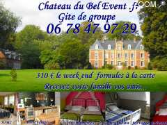 photo de chateau du bel event gites d groupe chambres d'hotes