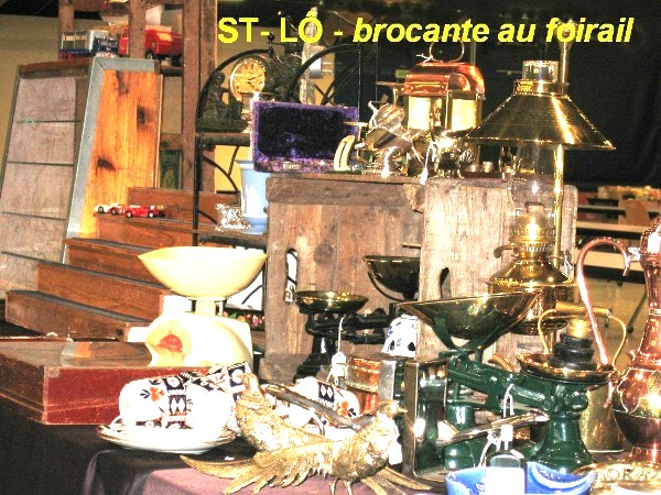 st l 12 oct brocante couverte au foirail sortir en normandie en 2014 normandie. Black Bedroom Furniture Sets. Home Design Ideas