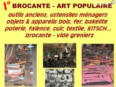 photo de brocante - art populaire - objets KITSCH