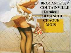 photo de BROCANTE MENSUELLE de COUTAINVILLE
