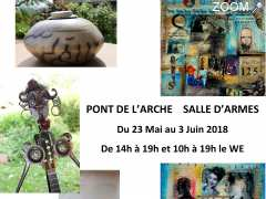 photo de Exposition Sculpture - Collage Painting